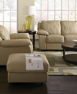 Merveilleux Blair Leather Sofa Living Room Furniture Collection
