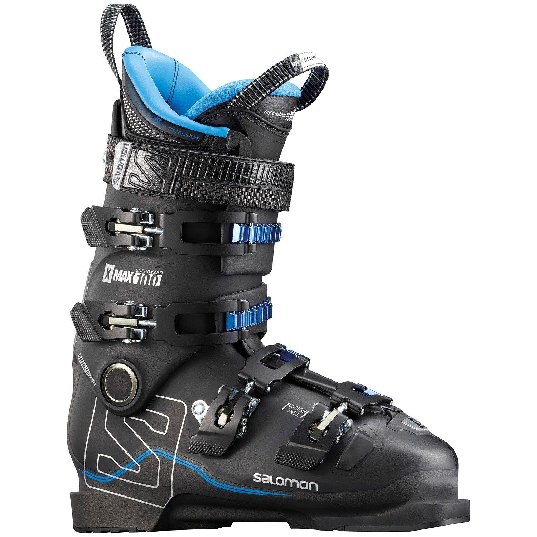 Salomon X Max 100 Ski Boots 2018 26.5 in Black