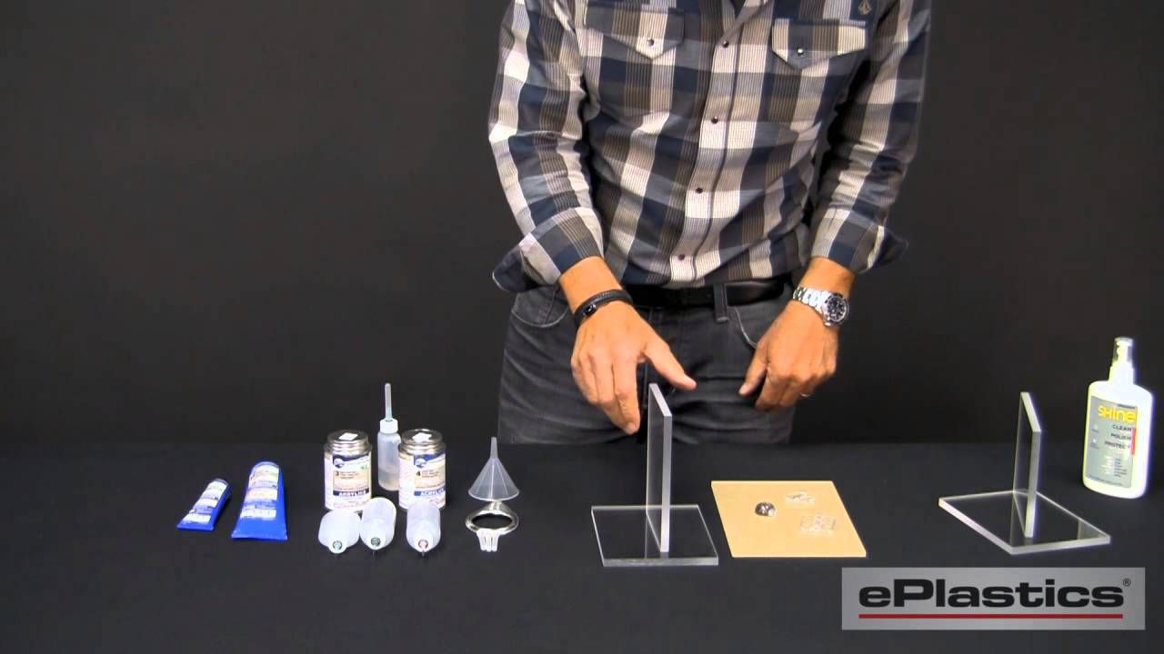 An excellent DIY instruction video of Acrylic Welding