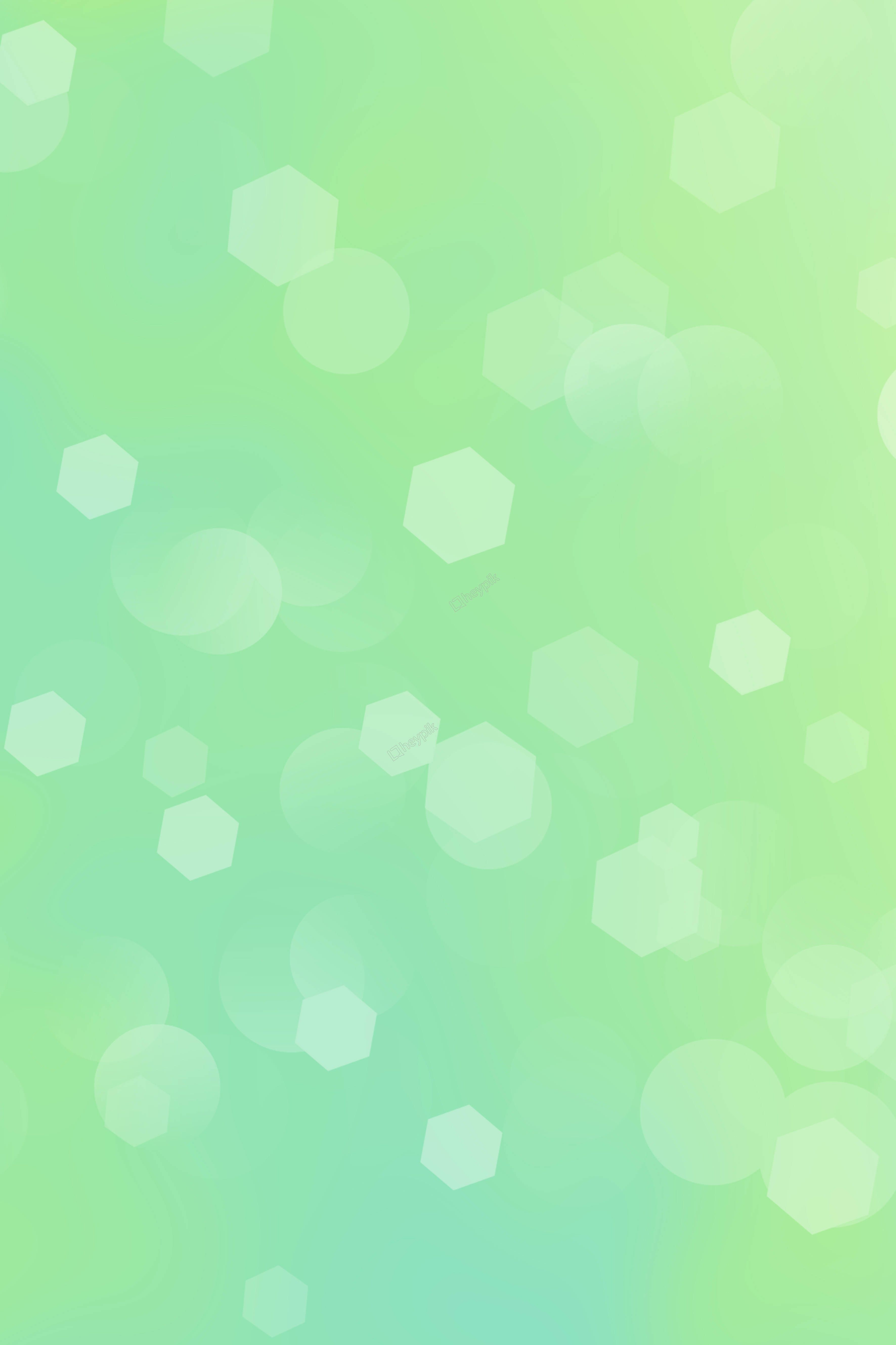Green Beautiful Geometric Flat Gradient Background