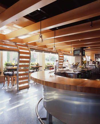 Best Restaurant Design Interior Ideas Cafe R D Newport Beach