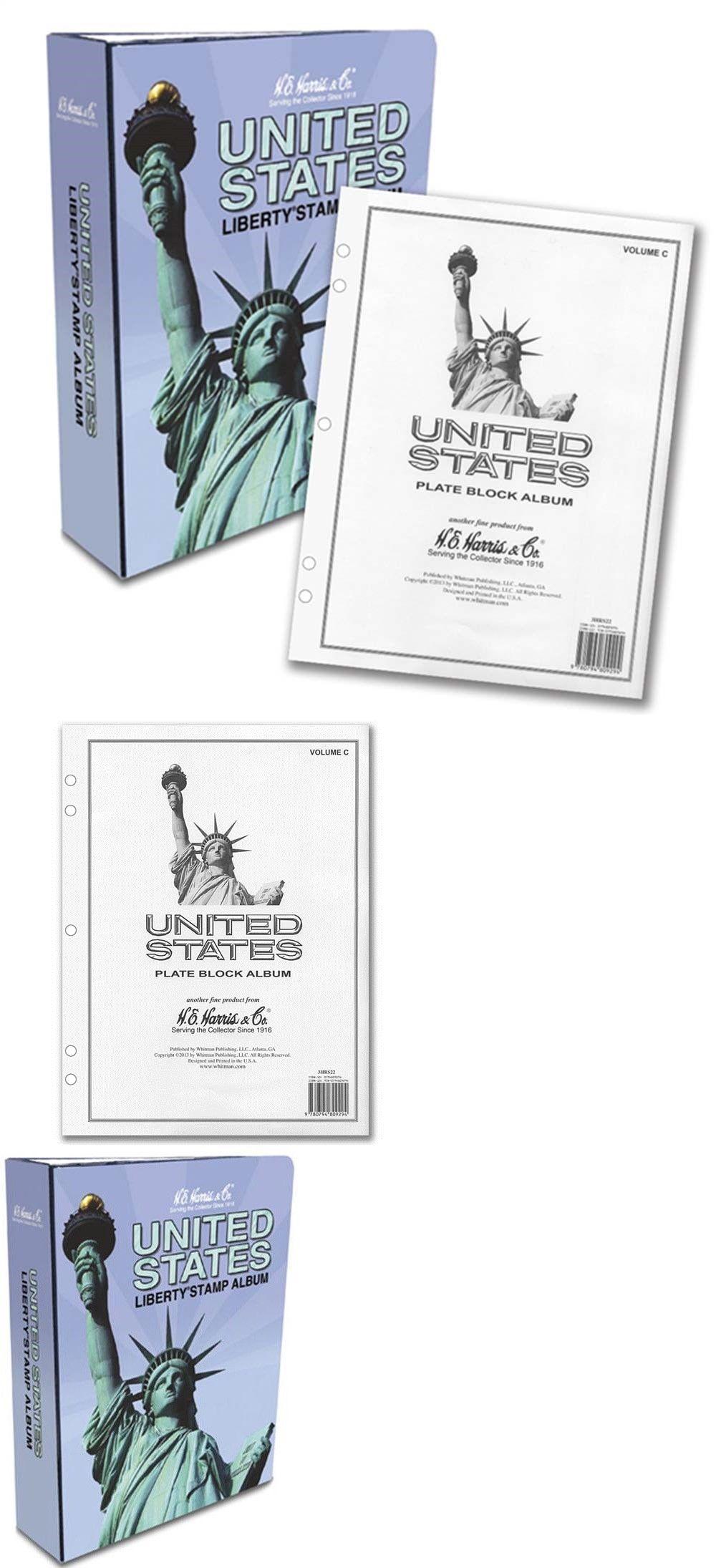 Albums 162057: He Harris Stamp Album Us Plate Block Part C