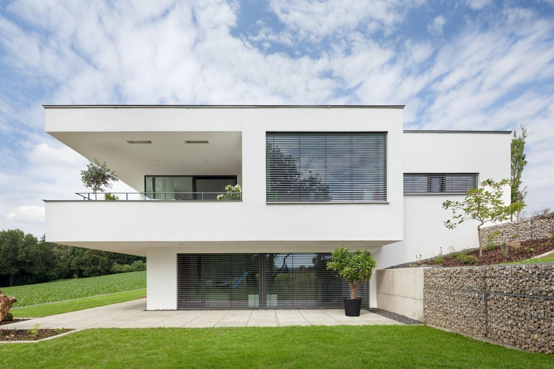 Neubau wh g berg 2013 sweet home pinterest for Modernes haus berg