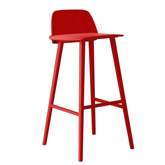 Muuto David Geckeler S Nerd Bar Counter Stool In So Many Colors Including Green Bar Stools Counter Stools Designer Homewares