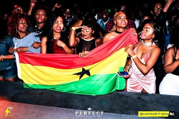 See photos from Stonebwoys 2nd concert in Asutralia