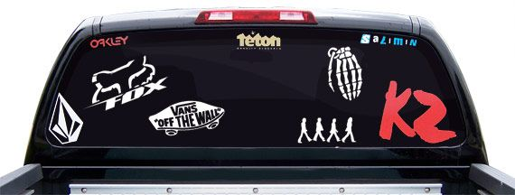 Decals Stickers Vinyl Decals Car Decals General - Window stickers for cars