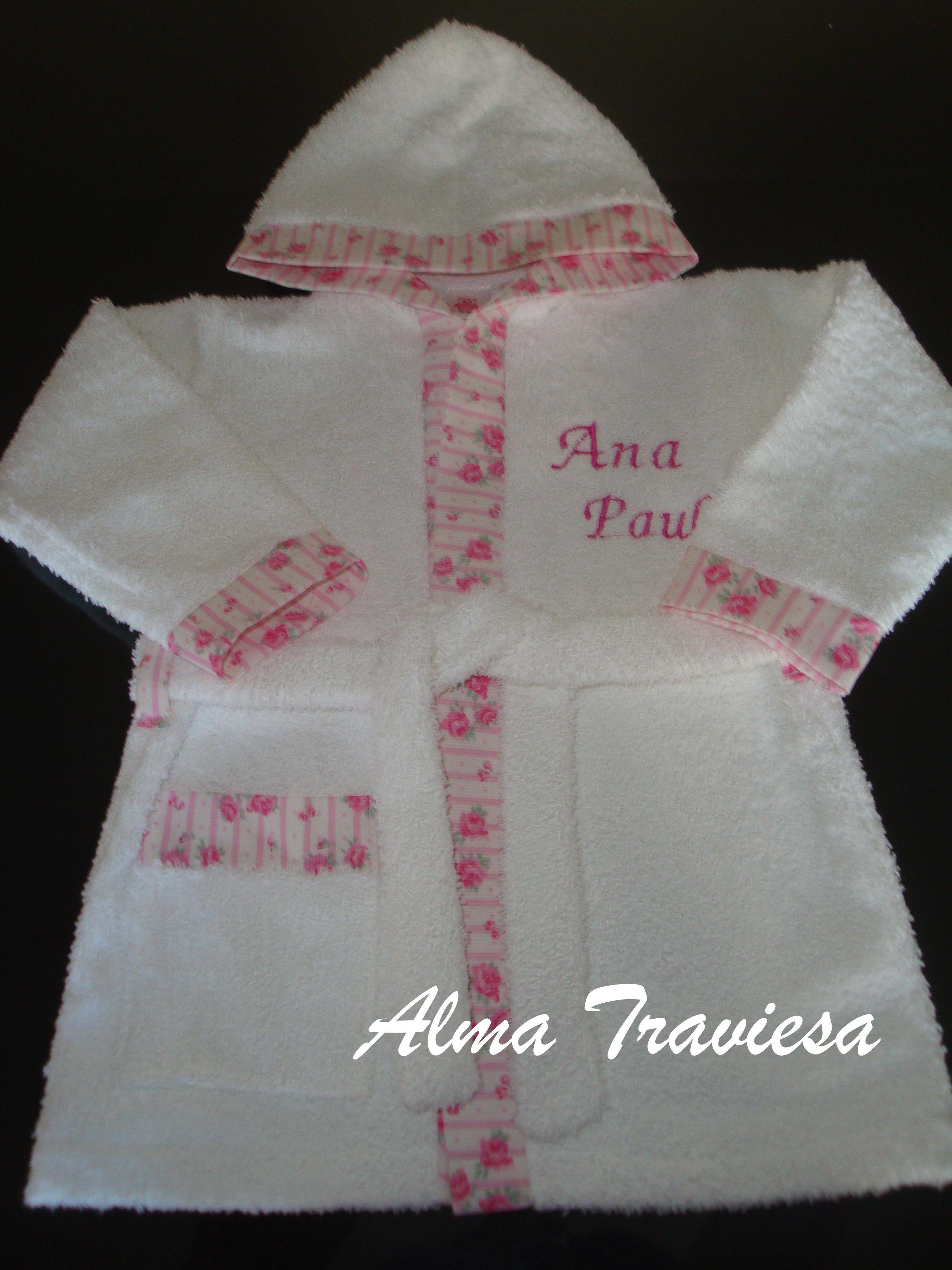 Salida de ba o bata de toalla de doble felpa blanquer a para beb s pinterest spa birthday - Toallas para bano ...