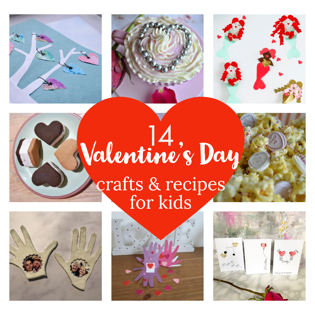 Photo of Dolly Dowsie: 14 Valentine's Day Crafts & Recipes For Kids ♥