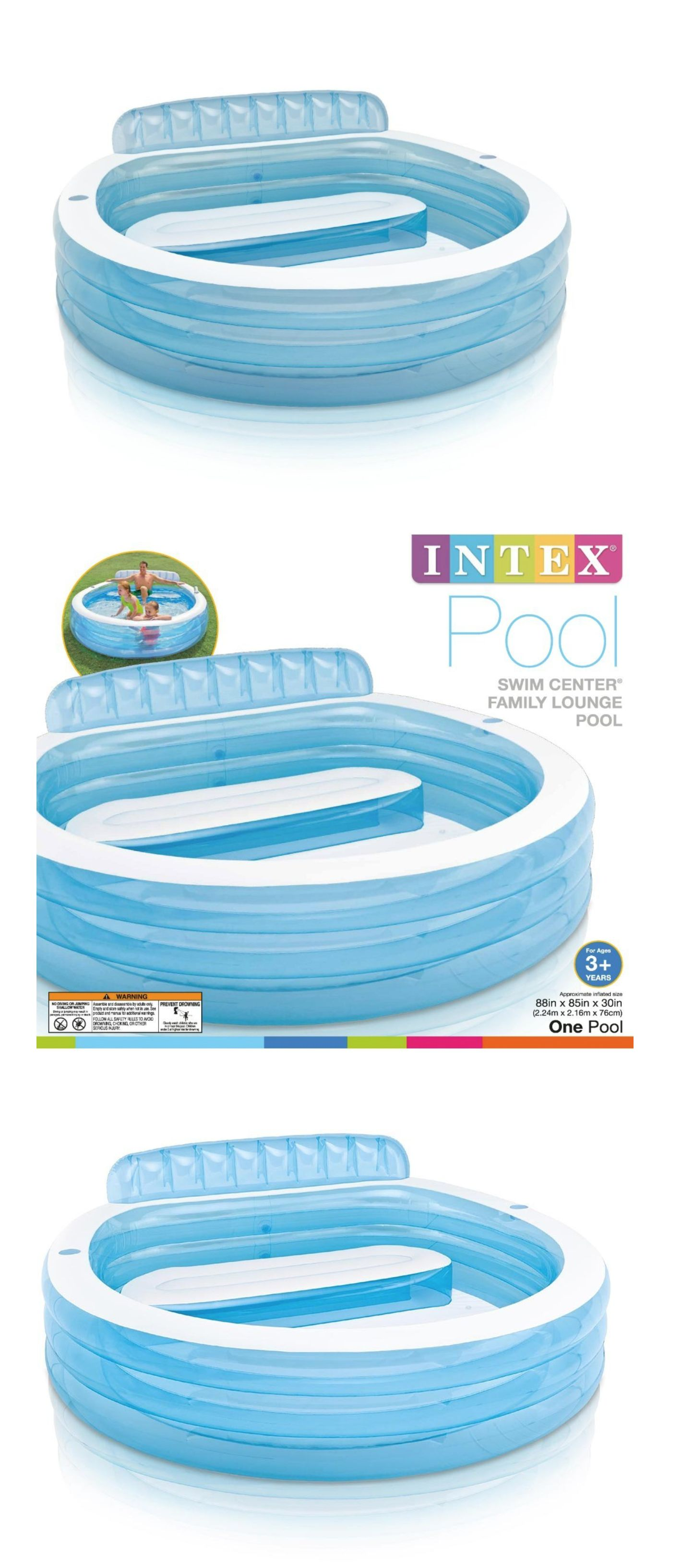 Inflatable And Kid Pools 116407 Blow Up Pool Top Summer Toy Backyard Accessories For Kid In Water Lounge New Blow Up Pool Backyard Accessories Summer Toys