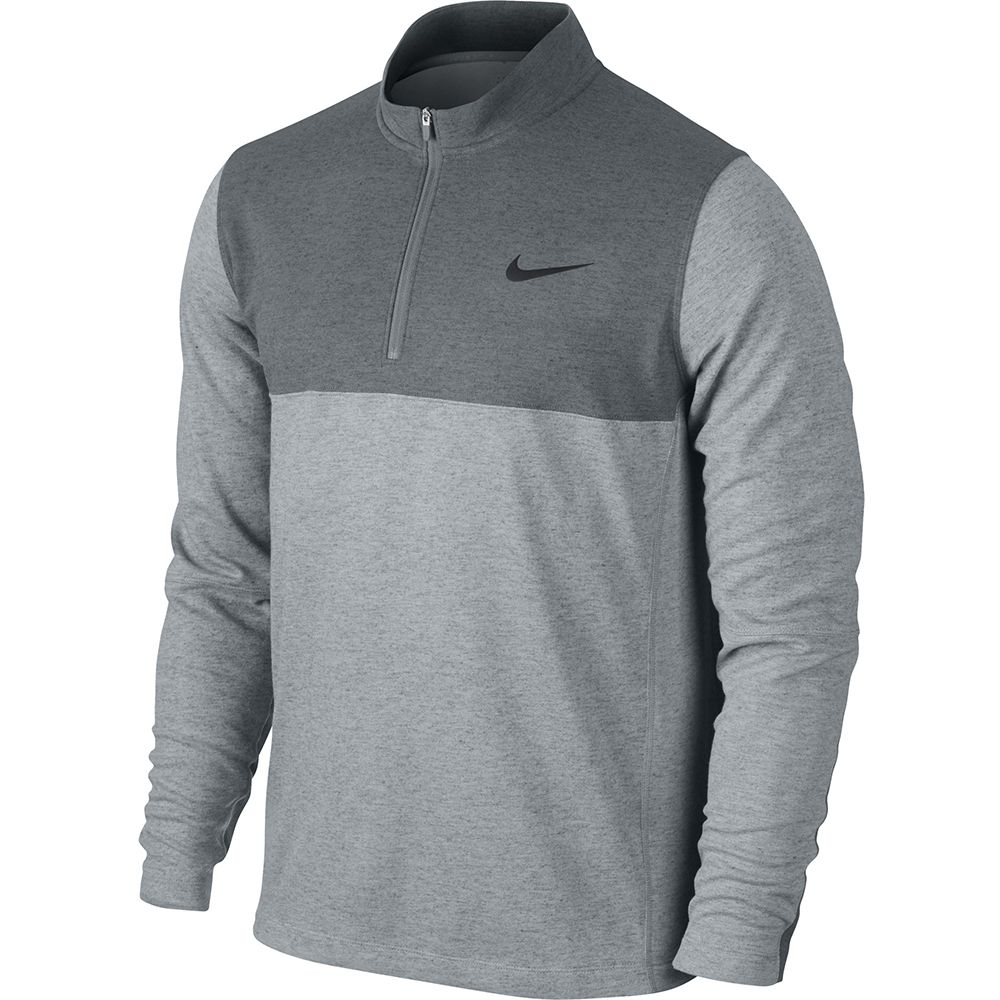 NEW Men's Nike Dri-Fit Wool 1/2 Zip Golf Pullover Jacket .