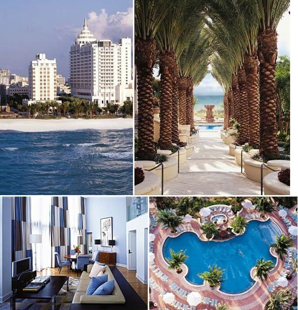 What Are Interesting Places To Visit In Florida: Best Hotel Ever. Loews Hotel, Miami Beach Favorite-places
