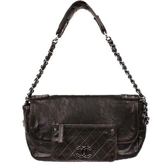 Chanel Dark Brown Pocket in the City Bag