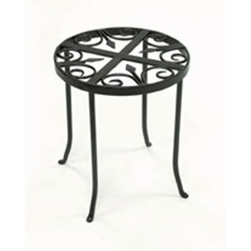 Round Trivet Wrought Iron Plant Stand