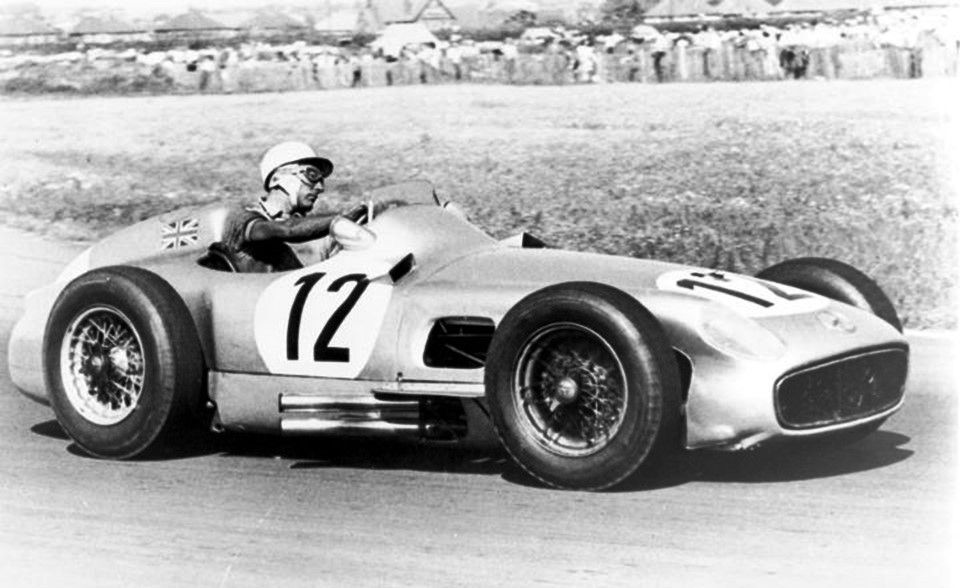 Stirling moss drove the mercedes benz w196 to victory at for Moss motors mercedes benz