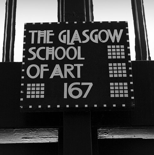 Glasgow School Of Art Black And White Photography
