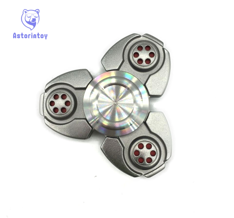 8.27$  Watch more here - Creative Ceramic Tri-Spinner Fidget Toy EDC Hand Spinner for Autism and ADHD Stress Relieve Toy   #magazineonlinebeautiful