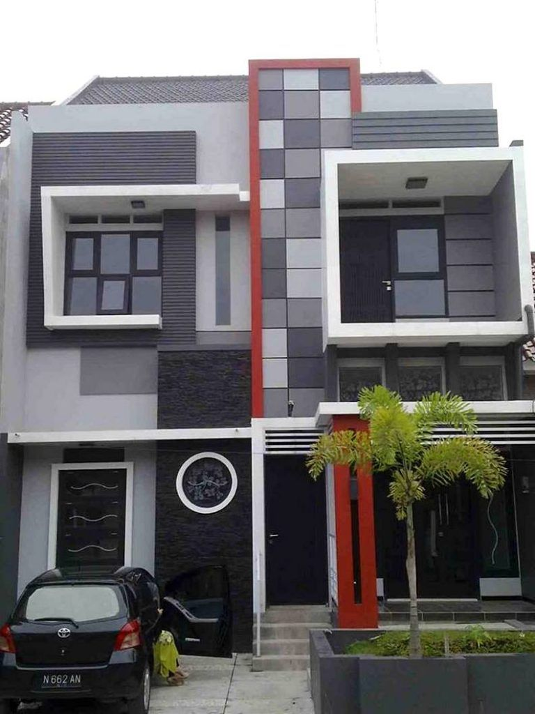 Rumah Minimalis 2 Lantai Sederhana Tampak Elegan Rumah Minimalis Desain Rumah 2 Lantai Eksterior Rumah