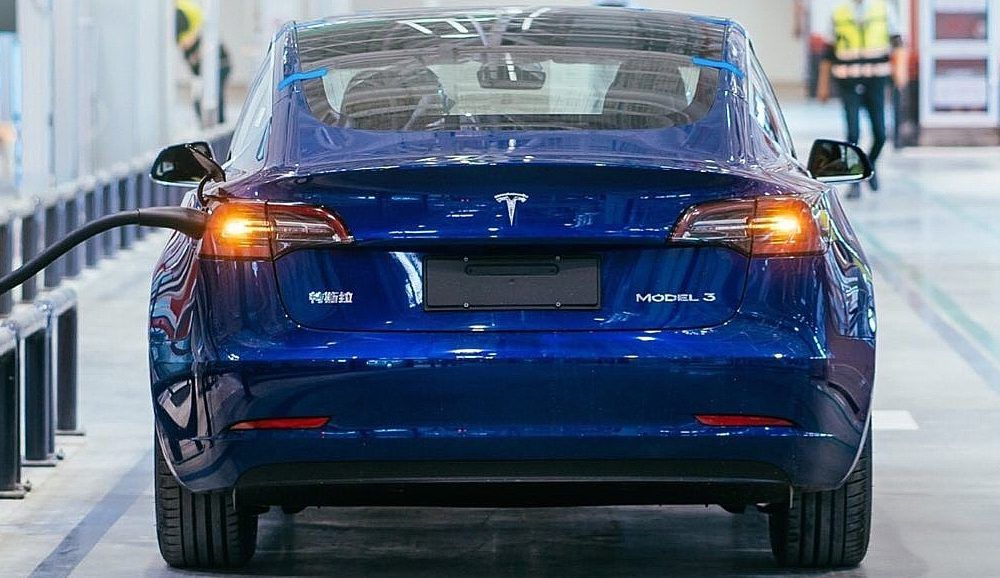 First Look At Tesla S Made In China Model 3 Car Electric Cars