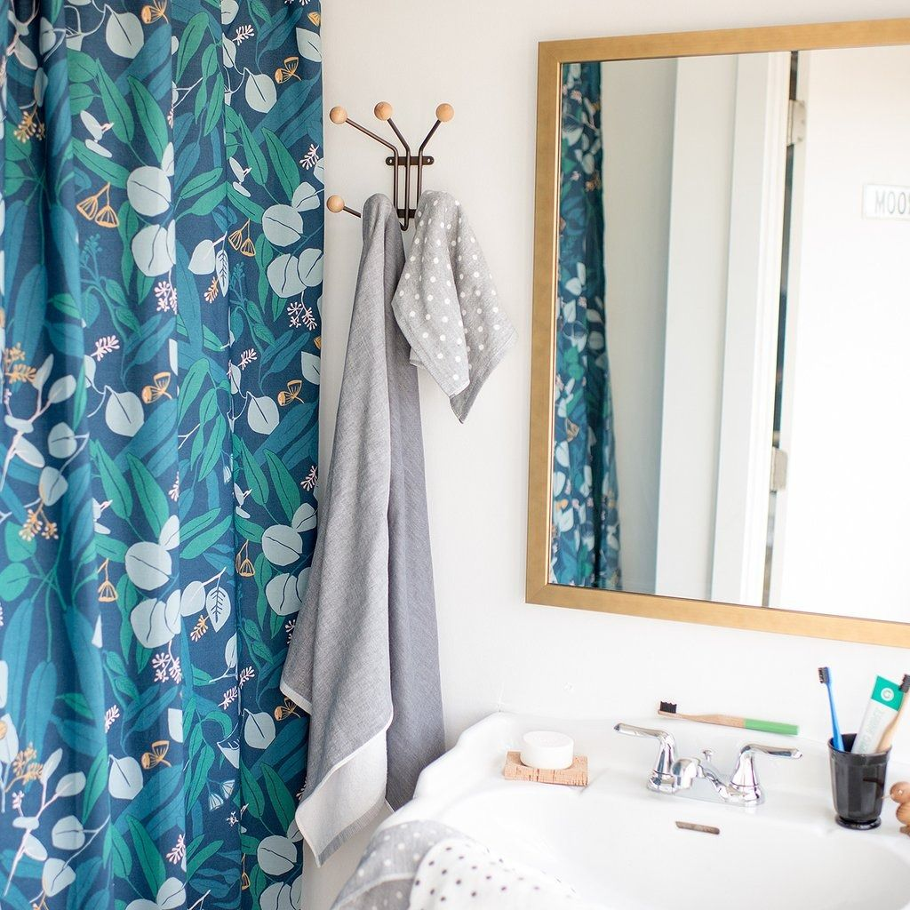 Eucalyptus Nights Shower Curtain By Justina Blakeney X Schoolhouse