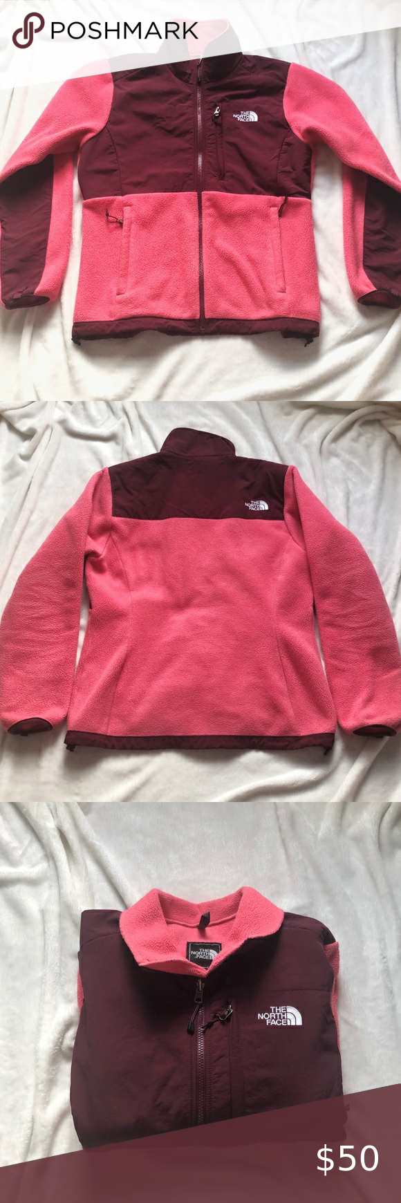 Pink And Maroon Classic The North Face Jacket In 2020 North Face Jacket Clothes Design Fashion Design [ 1740 x 580 Pixel ]
