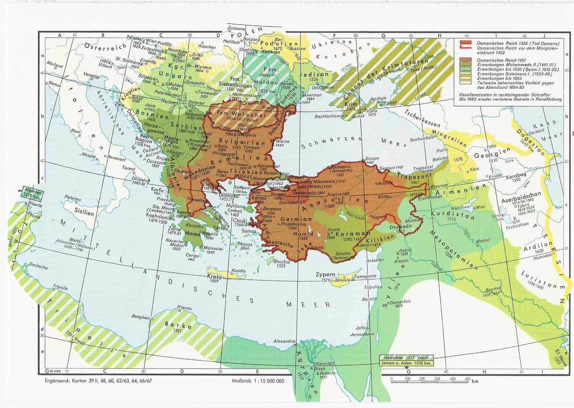 The Ottoman Empire 1326 1683 Maps Ottoman Empire Ottoman Empire