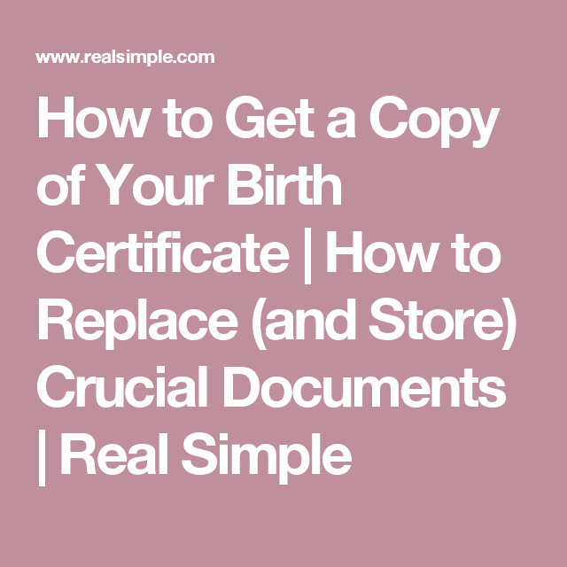 How To Replace And Store Crucial Documents Home And Organization
