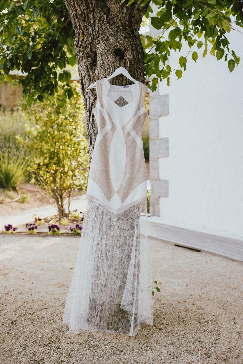El vestido - La boda con estilo de Belén y Ventura - TELVA.com 67f890b808d