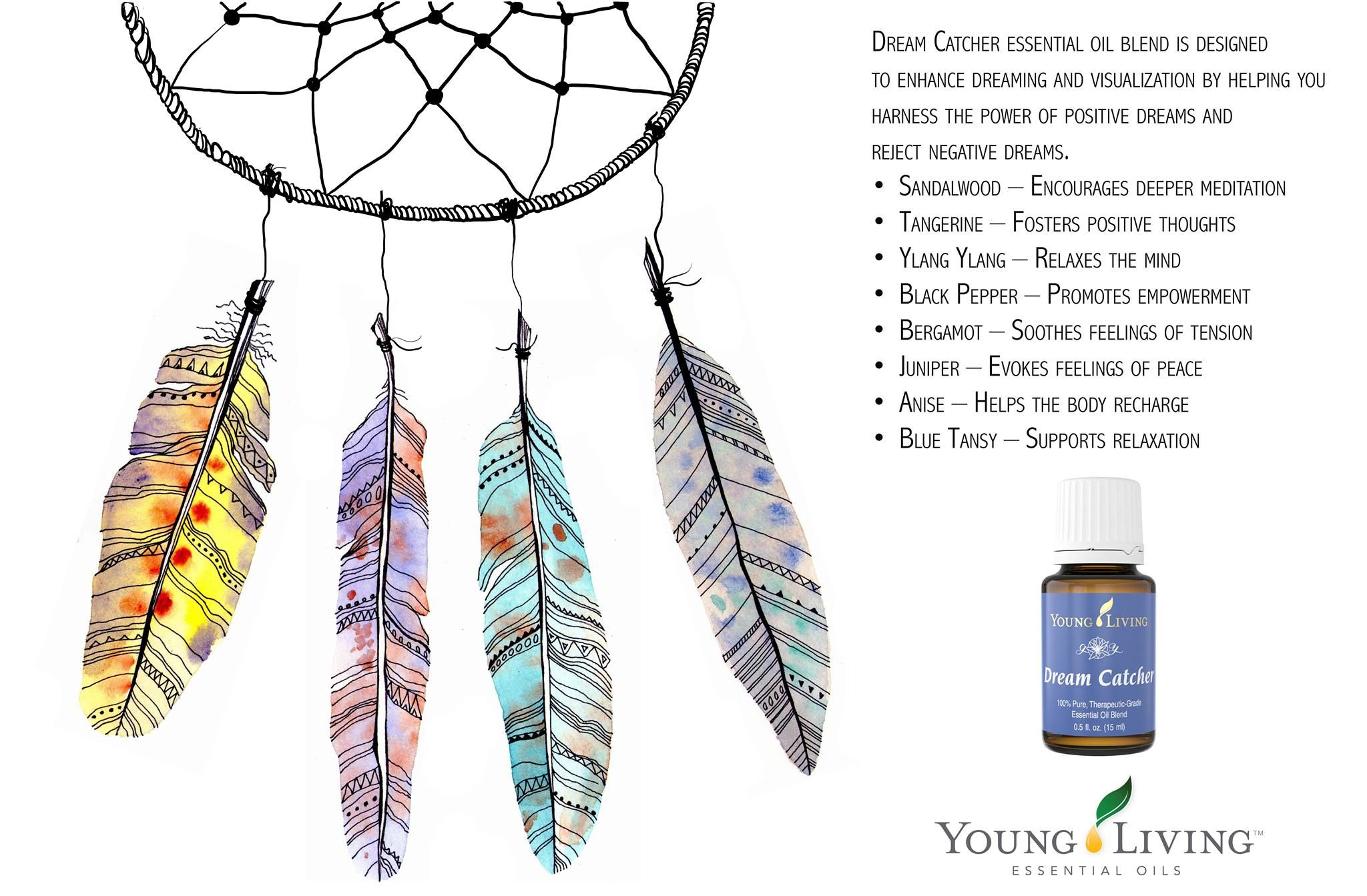Dream Catcher Essential Oil Blend Is Designed To Enhance Dreaming
