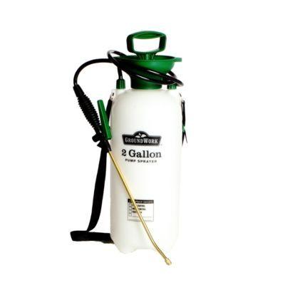 Groundwork Pump Sprayer With Brass Wand 2 Gal Sprayers Tractor Supplies Groundwork