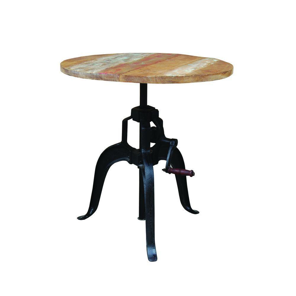Sensational Yosemite Home Decor Cast Iron And Natural Mango Adjustable Alphanode Cool Chair Designs And Ideas Alphanodeonline