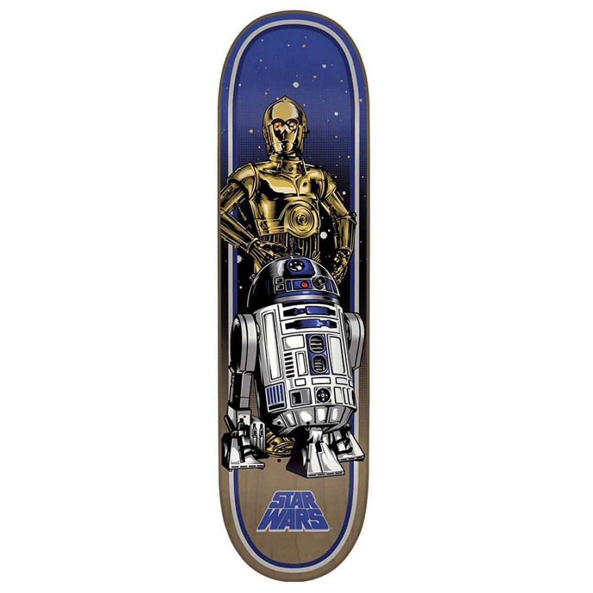 Star Wars Skateboard Deck R2D2 C3PO DROIDS 8.375 in Santa Cruz SHRED ...