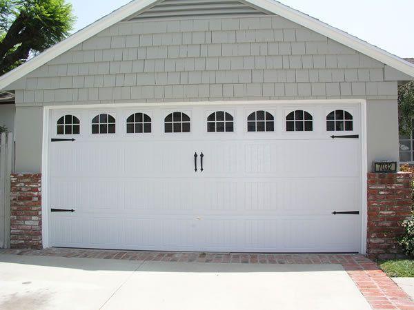 Wayne Dalton Window Insert Short Panel Cascade 8000 Series 4 Piece Set Garage Door Styles Garage Doors Garage Door Design