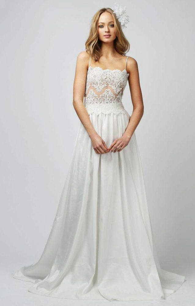 Say Yes To The Skirt 15 Beautiful Two Piece Wedding Dresses