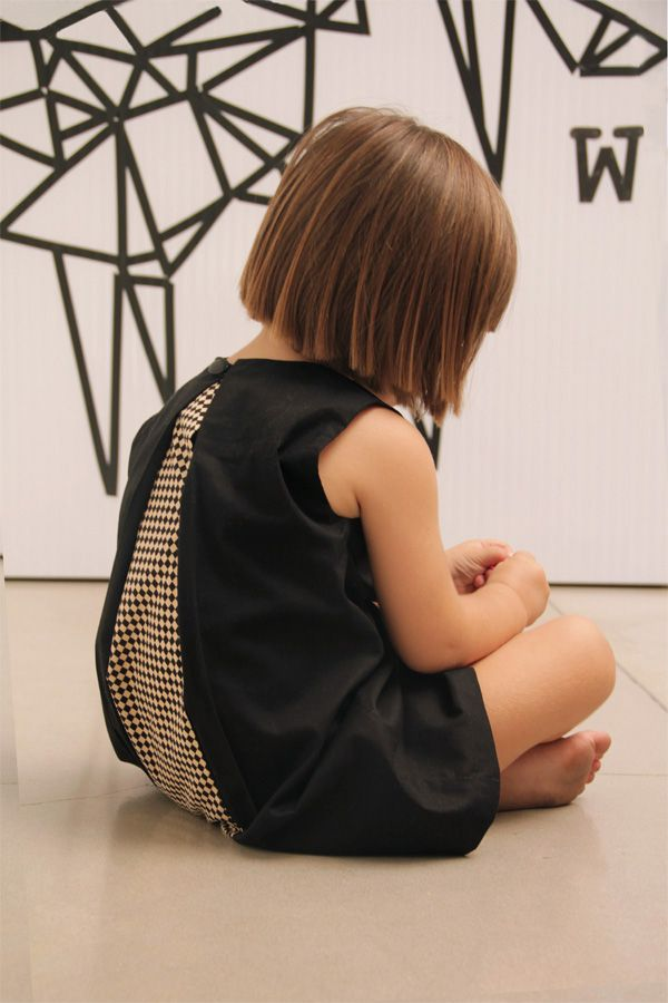 .open back black girl dress SS14 www.motoreta.es