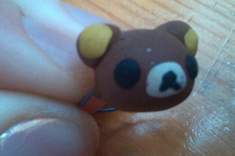 A little rilakkuma ring. Very cute, I mean.