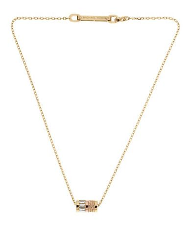 This is very, very neat. I love unique items like this. Gold-Tone Barrel-Pendant Necklace | Lord and Taylor