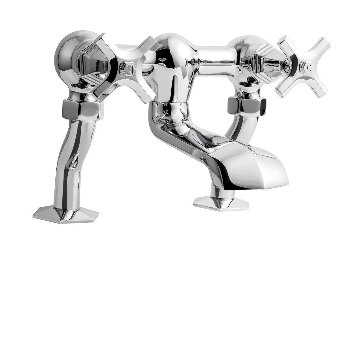 Waldorf Crosshead Lever Exposed 2 Handle Tub Faucet in Waldorf | Luxury bathrooms, Crosswater Bathrooms USA