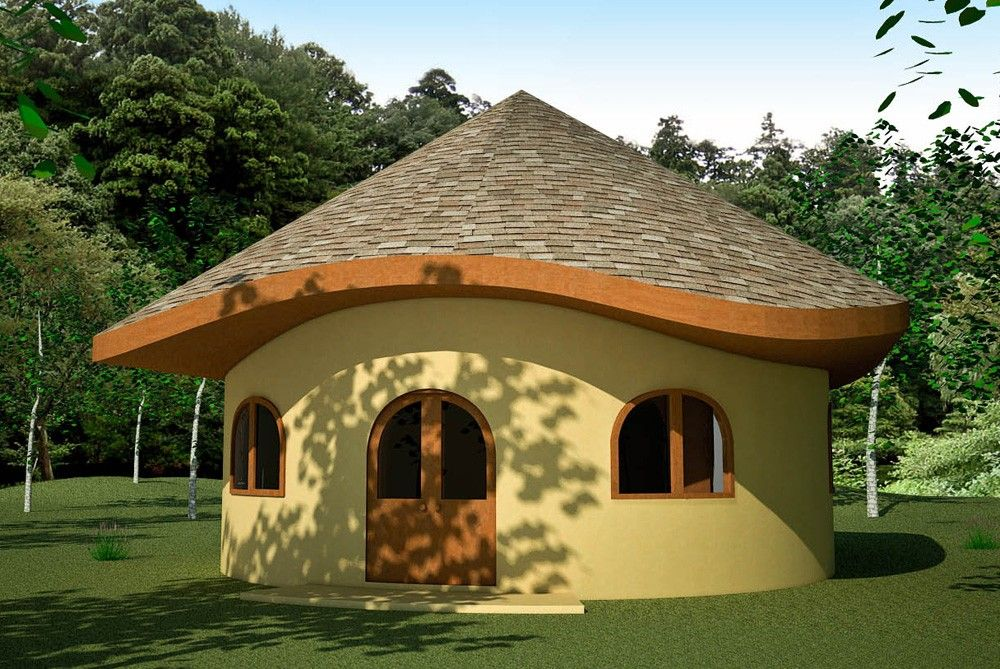 Best Hobbit Home With Shingles House Roof Design Natural 400 x 300