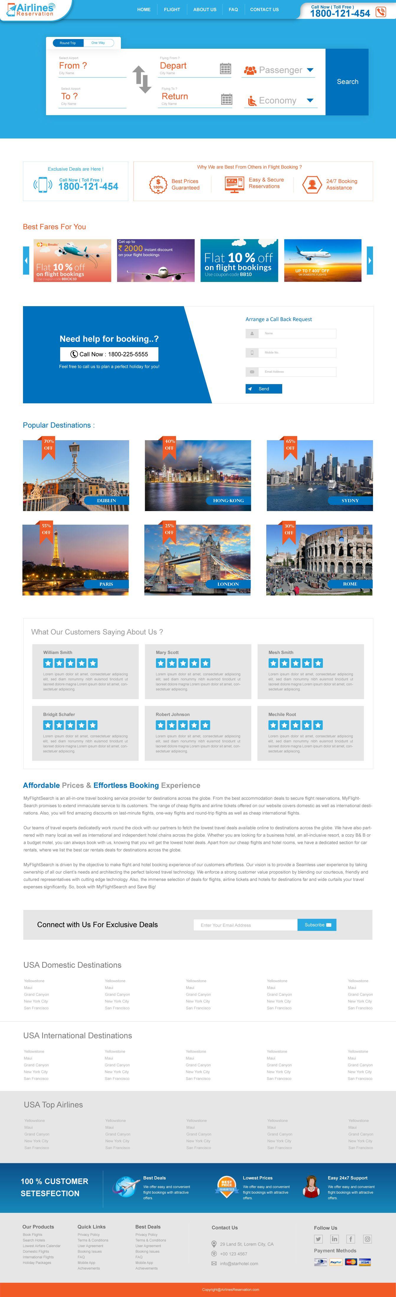 Flight Booking PSD in 2020 Business class flight, Book