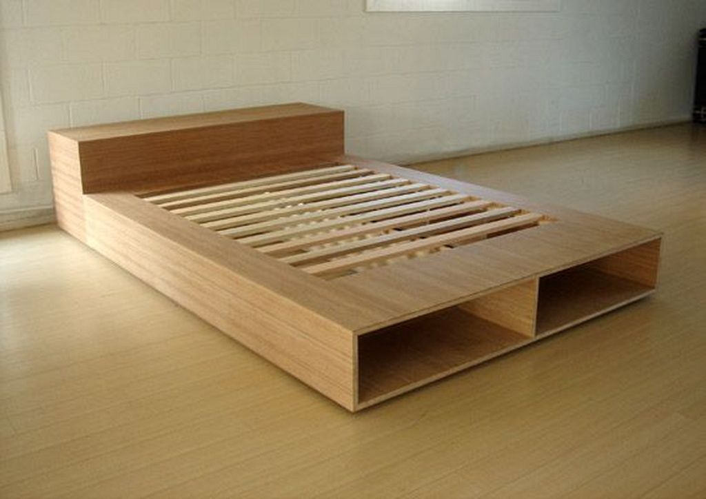25 Best Diy Plywood Bed Frame Designs With Storage Plywood Bed