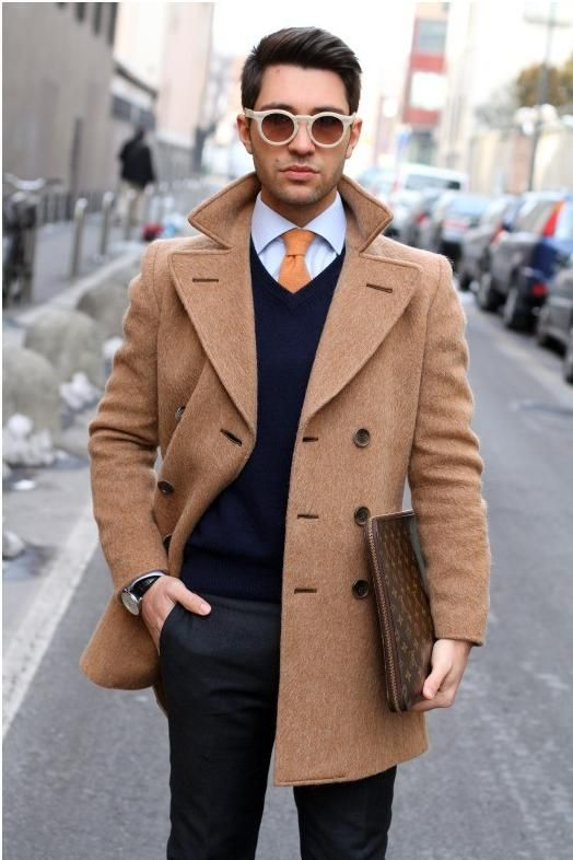 How to Wear a Pea Coat for Men - The Trend Spotter 82