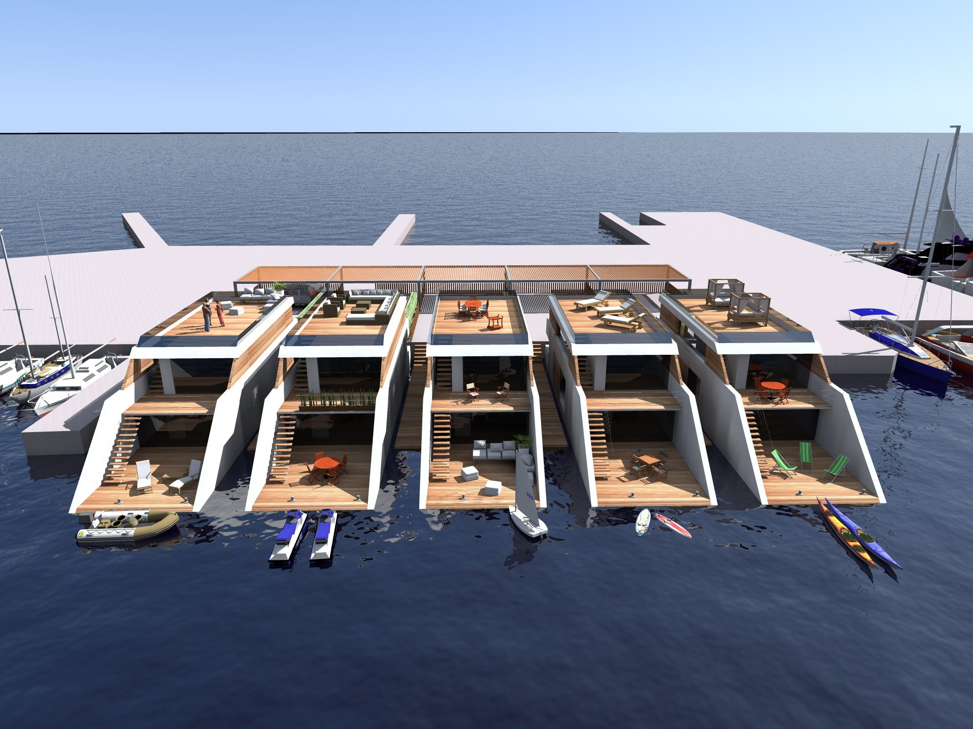 Do It Yourself Home Design: Floating Architecture - Google Search