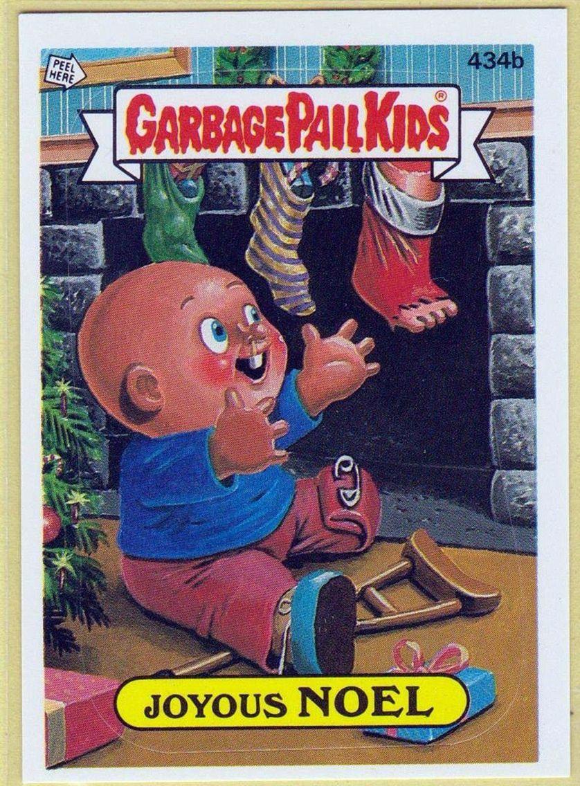 Joyous Noel Garbage Pail Kids Cards Garbage Pail Kids Kids Cards