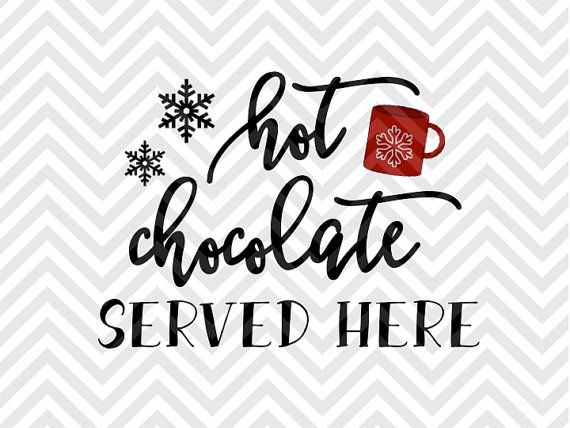 Hot Chocolate Served Here Hot Cocoa Bar Printable Warm Wishes Palm Tree Elf Santa North Pole Christ Templates Printable Free Hot Chocolate Printable Winter Svg