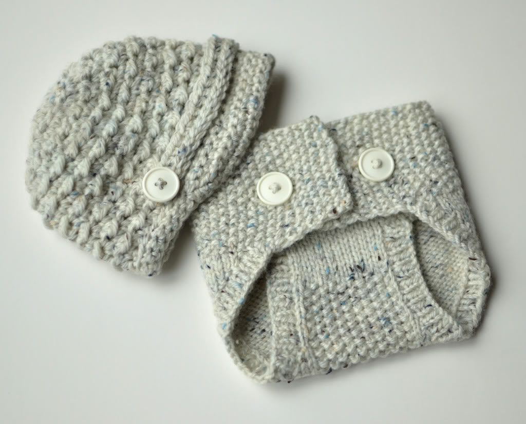 Adorable Knitted Diaper Covers | Seed stitch, Newborn hats and Stitch