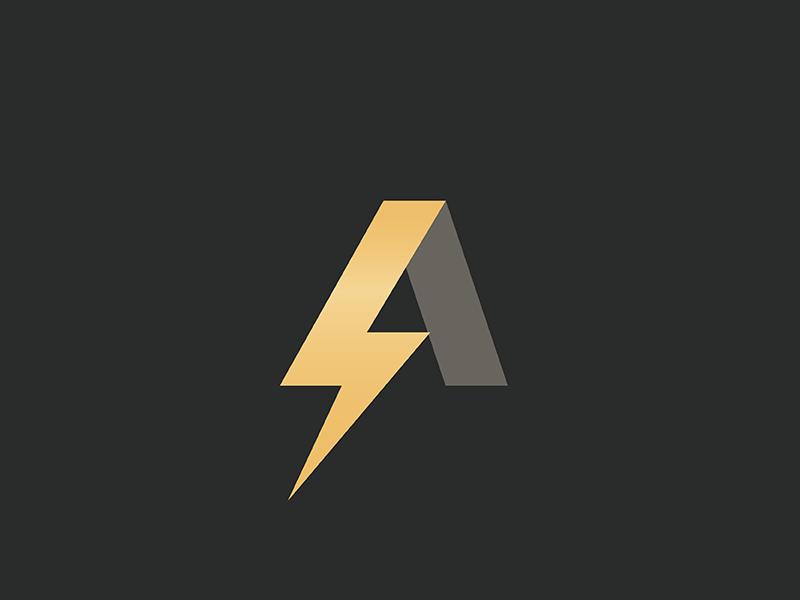 A Lightning Logo Lightning Logo Electricity Logo Lightning Bolt Logo