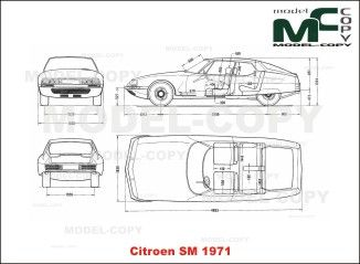 Pin su Citroen blueprints