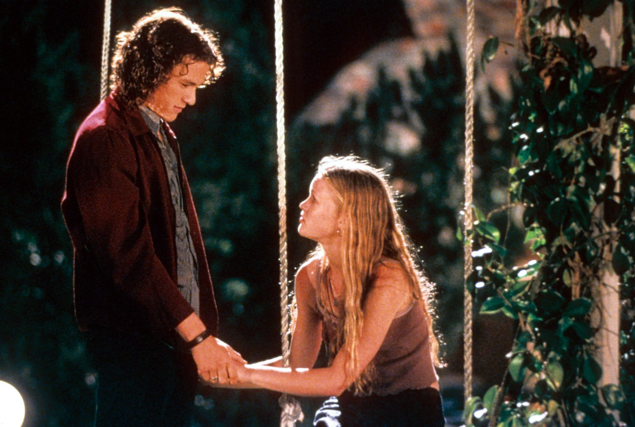 59 Great Movie Couples Heath Ledger And Julia Stiles As Patrick