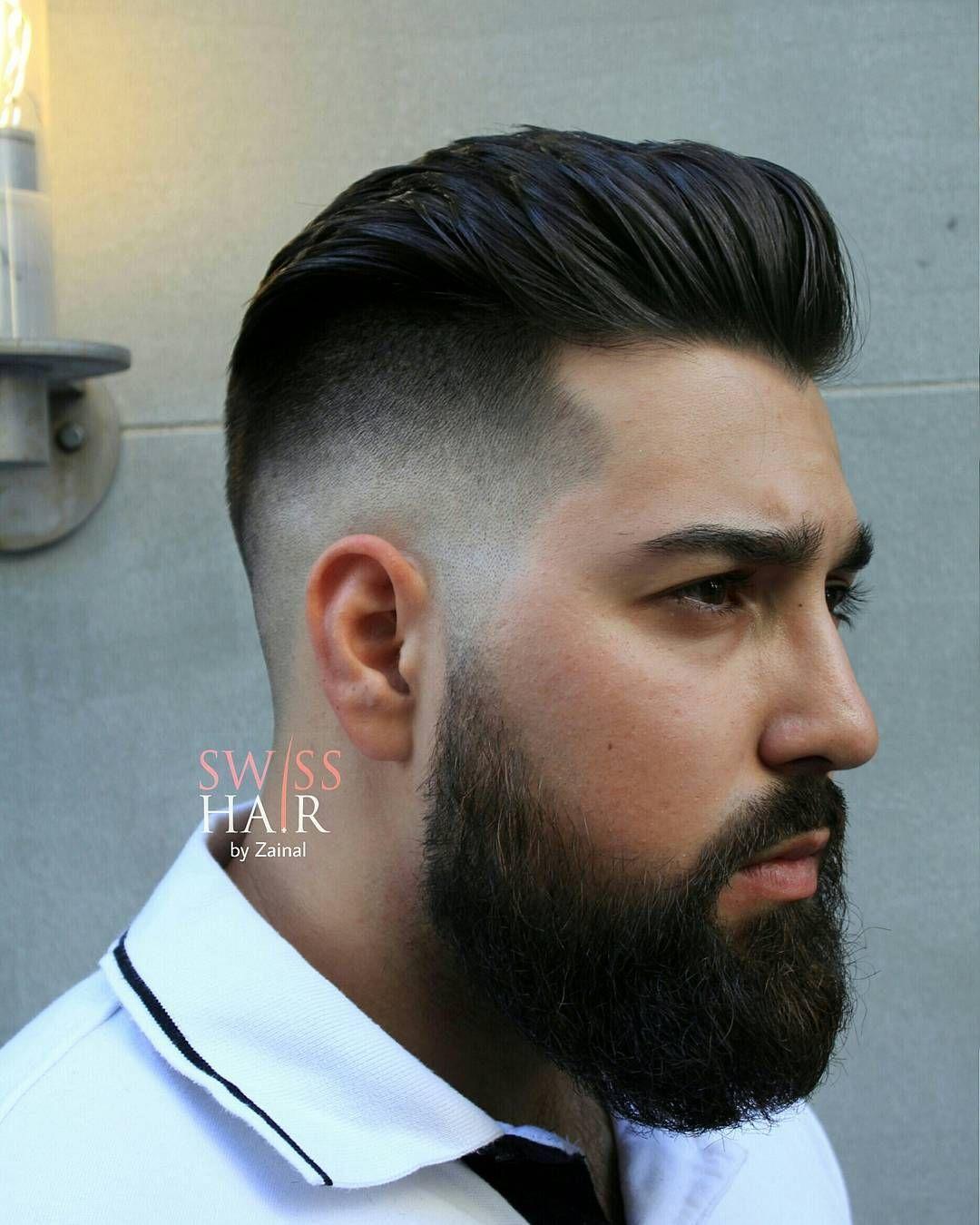 Men's pompadour haircut swisshairbyzainallonghairstyleformenpompadour  men fashion
