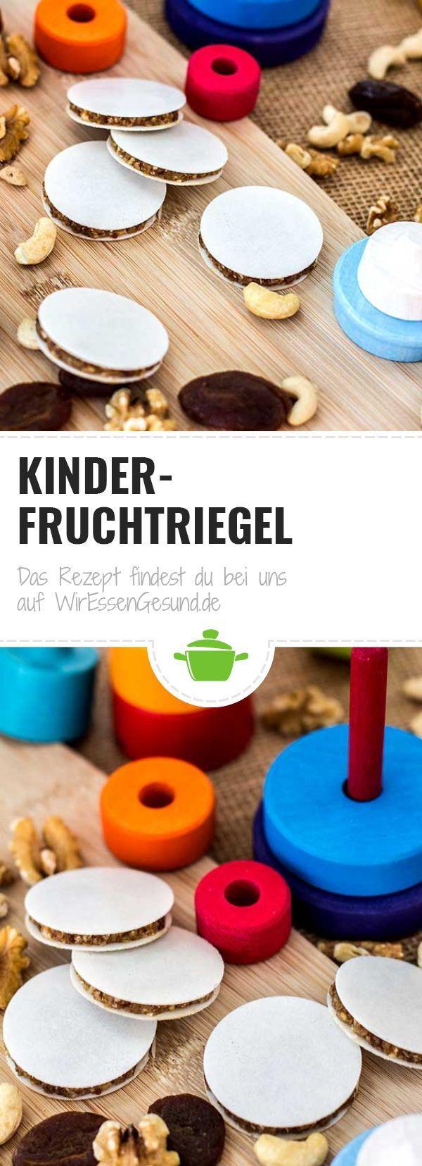 (Kinder-) Fruchtriegel - WirEssenGesund
